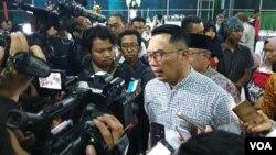 Ridwan Kamil meminta warga Jabar tetap mencintai Papua seperti sebelumnya. (VOA/Rio Tuasikal)