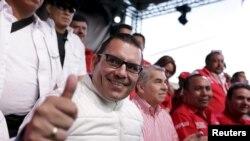 Manuel Baldizón, del partido Libertad Democrática, es uno de los candidatos favoritos en la elección presidencial de Guatemala, a realizarse el domingo 25 de octubre.