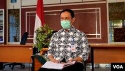 Kepala Dinas Kesehatan Kabupaten Sleman, DIY, Joko Hastaryo. (Foto: VOA/ Nurhadi)