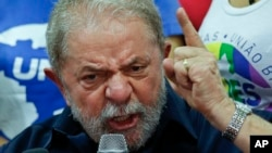 前巴西总统卢拉。