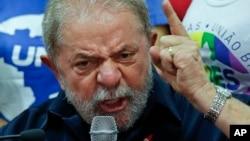 """Cựu tổng thống Luiz Inacia """"Lula"""" da Silva bị cáo buộc nhận hối lộ."""