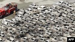 ABŞ hərbi qüvvələri Yaponiyada zəlzələ və sunamidən zərər çəkənlərə yardım əməliyyətlarına davam edir (AUDİO)