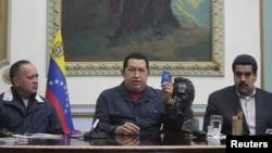Es evidente la pugna política existente entre Diosdado Cabello y Nicolás Maduro. Los dos fieles a Chávez, pero distantes entre si.