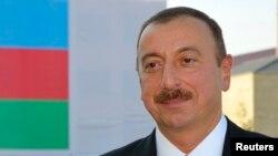 Le président azerbaïdjanais Ilham Aliev, 7 octobre 2011.