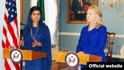 واشنگٹن میں پاک امریکہ وزرائے خارجہ کی ملاقات