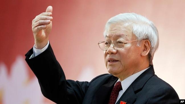 """Tổng bí thư Nguyễn Phú Trọng giao cho các cơ quan liên quan """"kiểm tra, xem xét, và kết luận"""" thông tin liên quan tới ông Thanh."""