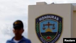 The Honduran National Police headquarters is seen in Tegucigalpa, Honduras, July 4, 2016.