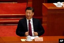 Arhiva - Kineski predsednik Ši Đinping tokom otvaranja rasprave Kineske narodne konsultativne konferencije (CPPCC) u Pekingu, Kina, 3. marta 2017.
