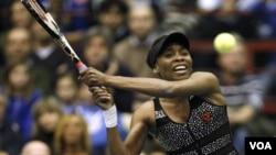 Venus Williams memutuskan mundur dari sejumlah pertandingan karena cedera punggung (foto: dok).