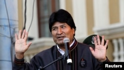 Tổng thống Bolivia Evo Morales