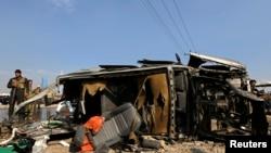 英國駐阿富汗使館車輛在喀布爾遭到炸彈襲擊。