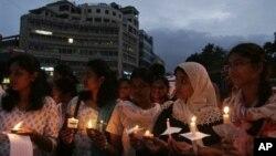 Индия. Правозащитники и студенты отмечают Международный день помощи жертвам пыток (архивное фото)