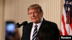 Tổng thống Trump đã miêu tả biến đổi khí hậu là một sự lường gạt, một mối đe dọa không có thực. (Ảnh tư liệu)