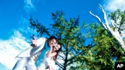 阿里山风景浪漫适合婚礼