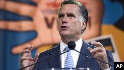 Una encuesta dio el mes pasado a Romney el 26 por ciento de las intenciones de voto entre los hispanos.