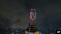 Les Chiliens de nouveau champions de la Copa America, comme en 2015. (Archives, 4 juillet 2015, Santiago, Chili).