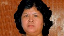 Bà Trần thị Thúy, nhà hoạt động đấu tranh cho quyền lợi đất đai của người dân