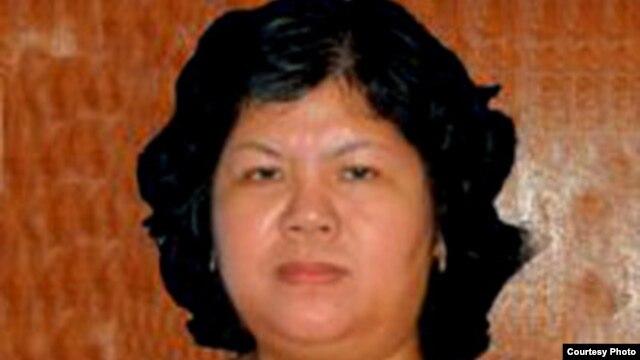 Bà Trần Thị Thúy bị bắt từ năm 2010 cùng với 6 nhà đấu tranh khác ở Bến Tre