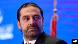 PM Lebanon Saad Hariri di Beirut, Lebanon, 23 November 2017. (Foto: dok).