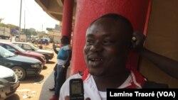 Serge Kalaga, un citoyen burkinabè, Ougadougou, le 3 mars 2019. (VOA/ Lamine Traoré)