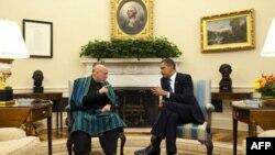 اوباما و کرزی در باره انتخابات افغانستان هم صحبت نمودند