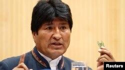 Evo Morales durante su discurso ante la Comisión de Estupefacientes de la ONU agradece la reinserción de su país y el reconocimiento de la hoja de coca.
