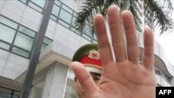 6 nhân viên công lực Việt Nam bị bắn trong lúc thi hành lệnh cưỡng chế