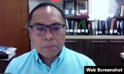 Guru Besar Hukum Internasional UI sekaligus Rektor Unjani, Hikmahanto Juwana. (Foto: screenshot)