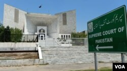 پاکستان کی سپریم کورٹ کا ایک بینچ سابق جسٹس شوکت صدیقی کی اپنی برطرفی کے خلاف درخواست کی سماعت کر رہا ہے۔