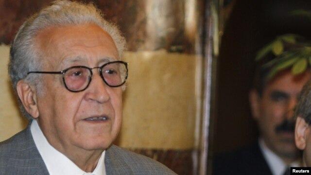 Lakhdar Brahimi se dit décu que la trêve n'ait pas tenu, mais appelle à de nouveaux efforts