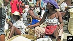 FILE - A Haitian market.