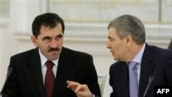 Юнус-Бек Евкуров и Арсен Каноков