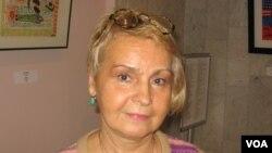 Светлана Ходаковская, главный хранитель Музея политической истории России