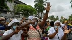 Manifestations contre la candidature du président Alassane Ouattara à un troisième mandat