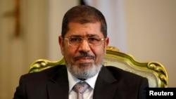 Le président Mohamed Morsi (photo du 8 octobre 2012)