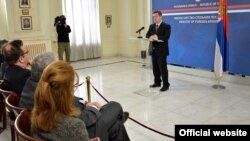 Konferencija za novinare ministra inostranih poslova Srbije Ivice Dačića (mfa.gov.rs)