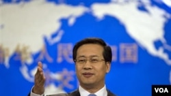 Jurubicara Kementerian Luar Negeri Tiongkok, Ma Zhaoxu mengumumkan, Beijing mengakui NTC sebagai pemerintah yang sah di Libya (13/9).