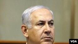 PM Israel Benjamin Netanyahu mengecam perjanjian rekonsiliasi Palestina di Kairo.