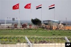 Turkiya-Suriya chegarasi