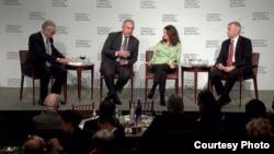 """美国外交关系协会举行""""美国在亚洲的战略:重返政策有效吗?""""的讨论会(外交关系网站截图)"""