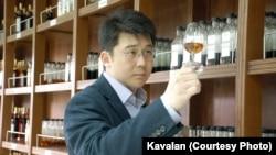 Ian Chang, the master blender at the Kavalan distillery in Taiwan.