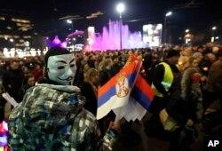 Protest u Beogradu na godišnjicu ubistva Olivera Ivanovića