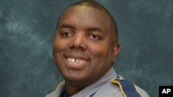 FILE - Baton Rouge police officer Montrell Jackson, 32.