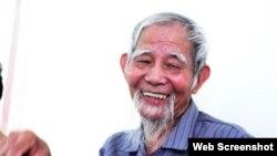 Ông Lê Đình Kình. Photo Facebook Đong Tam TV