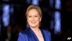 Meryl Streep ha sido nominada 29 veces a los Premios Globos de Oro.