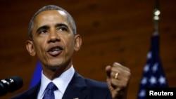 Президент Обама в Ганновері
