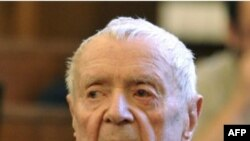 Шандор Кепиро в зале суда за несколько недель до смерти