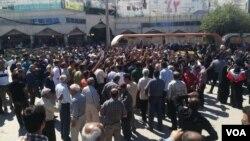 دور تازه اعتراضات در کازرون - اردیبهشت ۱۳۹۷