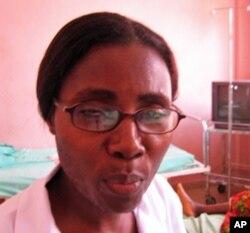 Zulmira Maria, Directora de Enfermagem do Hospital Materno Infantil de Malanje