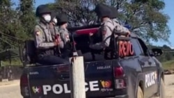 Myanmar Police (Photo- Kachin News Group)